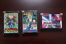 Famicom FC Ninja Gaiden Ninja Ryukenden 1 2 3 boxed Japan NES game US Seller