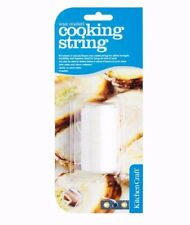 60m KitchenCraft Food Safe Cooking String Hygienic Strong Meat Poultry Twine