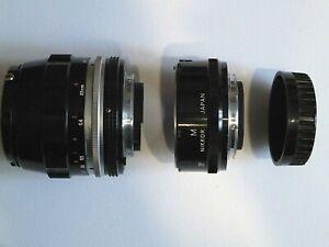Nikon Micro -NIKKOR  Auto 3.5/55mm  Ai mount + bague allonge M