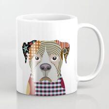 Mug Boxer Dog Coffee White Ceramic Drink-ware Cup Animal Lover Gift 11oz New