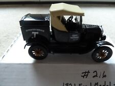 1921 FORD MODEL T CARGO TRUCK BLACK NATIONAL MOTOR MUSEUM MINT 1:32 SCALE