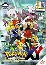 DVD Pokemon: XY Season 17 Episode 1 - 52 Plus 2 OVA 4 Box Set  Eng Sub