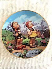 """M. J. Hummel Little Companions Plate """""""" Little Explorers"""" -Danbury Mint *Mint*"""