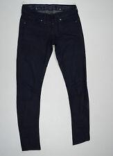 EUC RRP $299 Womens Stunning G-Star Raw 'CORVET SKINNY WMN' Black Jeans W27 L32