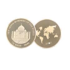Wonders of India Gold Coin Decorative Taj Mahal Commemorative Souvenir Coin