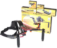 VIDEO Sevenoak SKR01P Dual Handle Support Rig w/Monitor adapter, counterweight!