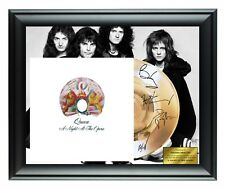 Queen Autographed A Night At The Opera Album Lp Gold Record Award