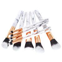 10X Pro  Makeup Brushes Cosmetic   Eyeshadow Face Brush Tool White