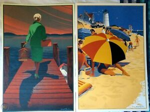 Laurent Durieux Jaws and The Birds Lithos. Signed and Numbered - Not Mondo