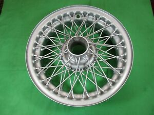 "TRIUMPH TR2,TR3,TR4 (A)- 15"" X 4 1/2-  60 SPOKE WIRE WHEEL- Original Refurbished"