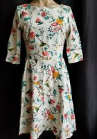 Chicanary Women's Floral Vintage Inspired 1950s Rockabilly Cotton Vintage Dress