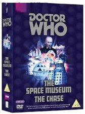 DR WHO 015 016 (1965) THE SPACE MUSEUM + CHASE - TV Doctor William Hartnell DVD