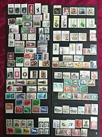 BERLIN 1957-1990: 142 stamps MNH**