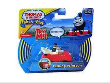 TALKING WINSTON CAR Take-n-Play Thomas & friends train track + NEW BATTERIES INC