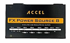 "Accel ""FX Power Source 8"" (isolated outputs) Power Supply for Effects Pedals"