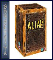 ALIAS - THE COMPLETE COLLECTION SERIES 1 - 5 *** BRAND NEW DVD BOXSET