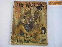 1927 VINTAGE GERMAN SCIENCE POPULAR DIE WOCHE MAGAZINE