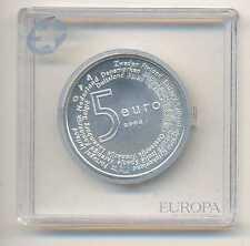Netherlands Enlargement of the European Union Silver 5 Euro 2004 BU