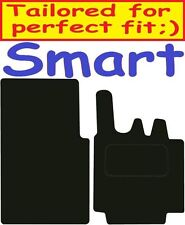 SMART FOR TWO Deluxe qualità Tappetini su misura 2003 2004 2005 2006 2007