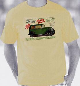 Austin Seven 7 Retro Brochure Style T-Shirt