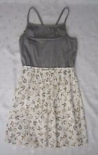 NWOT Hanna Andersson Sleeveless X Back Contrast Summer Dress ~ Size 160 14-16Y