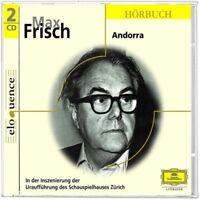 SCHAUSPIELHAUS ZÜRICH - MAX FRISCH-ANDORRA  2 CD  13 TRACKS HÖRBUCH  NEU
