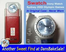 Swatch Watch Irony Penrith YGS4007 Sydney 2000 Olympic Games Aluminum Never Worn