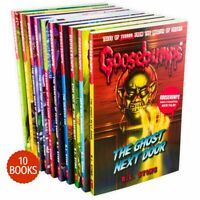 The Classic Goosebumps Series R L STINE 10 Books Collection