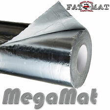 75 sq.ft FATMAT MEGAMAT SILVER Ultimate Car/Van Sound Heat Deadening+Dynamat Rlr