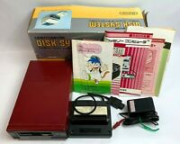 Nintendo NES DISK SYSTEM Set Console HVC-022 Boxed Famicom Not Tested JAPAN