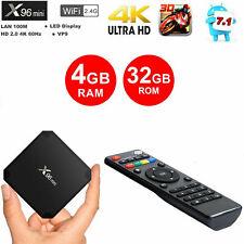 X96 Mini Android 7.1 S905W 4GB 32GB KODI TV BOX 4K IPTV Decoder TV MINI PC