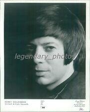 1974 Close Up of Singer Bobby Goldsboro Original News Service Photo