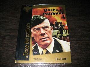 DOCE DEL PATIBULO DVD+ LIBRO LEE MARVIN CHARLES BRONSON PRECINTADA NUEVA