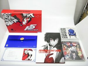 Persona 20th Anniversary Limited Box Soundtrack Best Album CD Art Book PS3 Japan