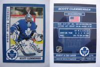 2015 SCA Scott Clemmensen Toronto Maple Leafs goalie never issued produced #d/10