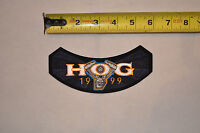 1999 Hog Harley Davidson Owners Group MotorCycle Cloth Jacket Patch New NOS