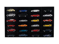 ACRYLIC DISPLAY SHOW CASE SHELF FOR 24 PIECES 1/43 SCALE MODELS BY AUTOART 90031