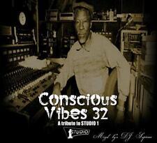 CONSCIOUS  VIBES  SOUND  STUDIO1  TRIBUTE  MIX  CD
