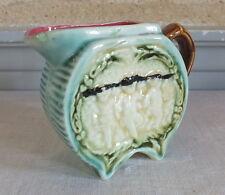 barbotine 19eme pot à crème décor enfants cream pot