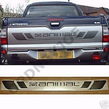 Mitsubishi L200 ANIMAL tailgate decal. Pickup 4x4 4wd