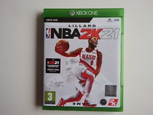 NBA2K21 on Xbox One in MINT Condition (With Unused 'add-on' DLC)