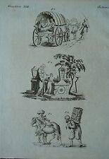 Original-Kupferstiche (1800-1899) aus Asien