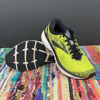 Brooks Mens Ghost 11 Black/Lime Running Shoes Size US 9 D (1102881d795)