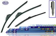 "VW Crafter 2006-on ALCA super flat wiper blades+rear flat SET 26""24""16"""