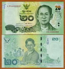 Thailand, 20 Baht, ND ( 2017), P-New, UNC > Commemorative