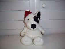 Aurora plush Dog Max with Santa hat