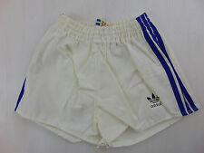 Vintage 80 ADIDAS Pantaloncini D164 XS S Bambino 13 14 Anni Bianco Shorts West