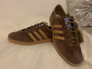 Adidas Amsterdam 'City Series' Brown BNIBWT UK Size 10
