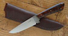 BILLY WATSON HUNTER KNIFE Master Smith Alabama Hand Made Forged Custom Sheath