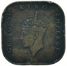 MALAYA, KING GEORGE VI / 1 Cent, 1943 BEAUTIFUL COLLECTIBLE COIN        #WT31680